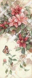Изображение Бабочки и клематисы (Butterfly and Clematis)