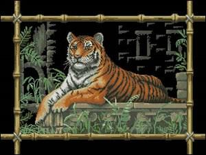 Изображение Бамбуковый тигр (Bamboo Tiger)