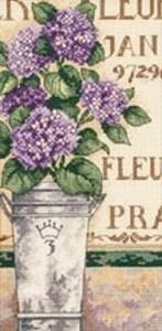 Изображение Букет с гортензией(Hydrangea Floral)