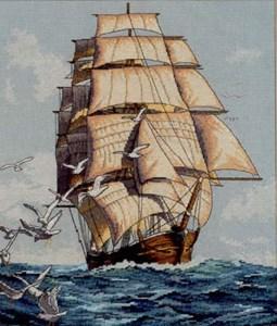 Изображение Морское путешествие (Clipper Ship Voyage)