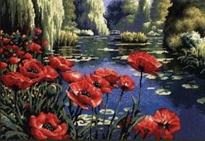 Изображение Маки на берегу озера (Lakeside Poppies)