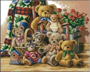 Изображение Собрание мишек(Teddy Bear Gathering)
