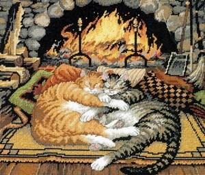 Изображение Спящие коты