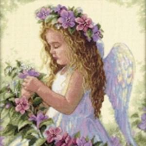 Изображение Цветочный ангел (Passion Flower Angel)