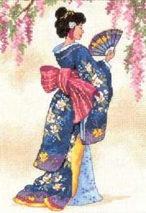 Изображение Элегантная гейша (Elegant Geisha)