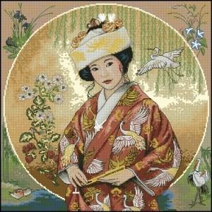 Изображение Японская девушка (Japanese Maiden)