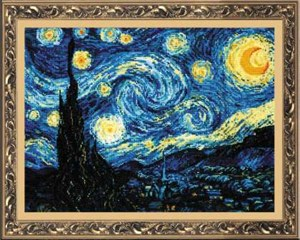 """Изображение Ван Гог """"Звездная ночь"""""""