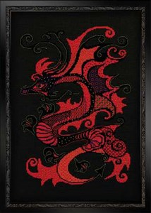 Изображение Красный дракон