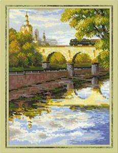 Изображение Москва. Мост через Яузу