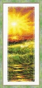 Изображение Оранжевое море