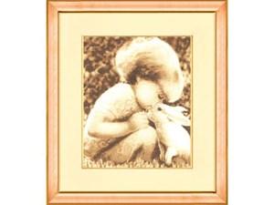 Изображение Девочка с кроликом