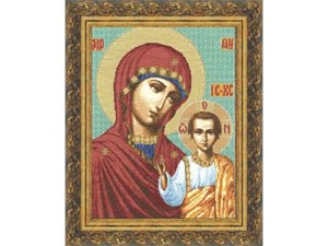 Изображение Казанская икона Божьей матери