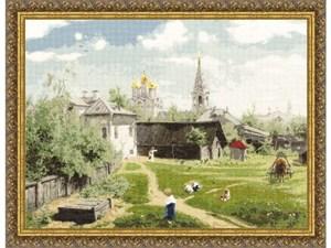 Изображение Московский дворик В.Д.Поленов