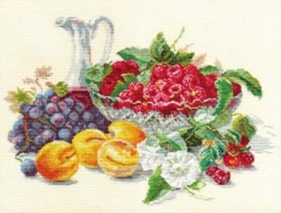 Изображение Абрикосы и малина