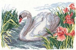 Изображение Белый лебедь