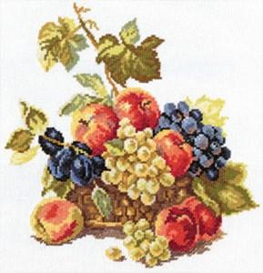Изображение Яблоки и виноград
