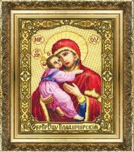 Изображение Образ Пресвятой Богородицы Владимирская