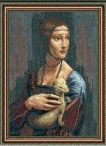 Изображение Дама с горностаем Леонардо да Винчи