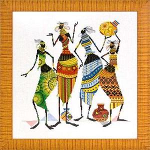 Изображение Африка. Африканочки-подружки
