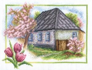 Изображение Весна в деревне