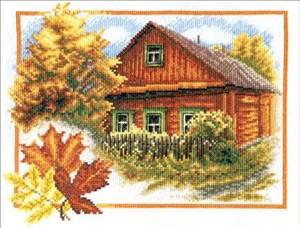 Изображение Осень в деревне
