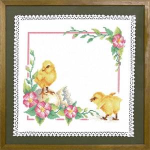 Изображение Пасхальные цыплята