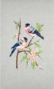 Изображение Снегири (Bullfinches)