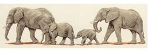 Изображение Прогулка слонов (Elefant stroll)