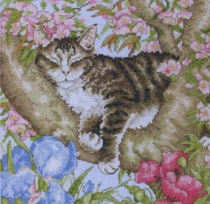 Изображение Спящий кот (Sleepy cat)