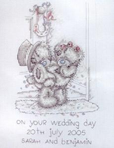 Изображение Свадебная метрика (Wedding sampler)