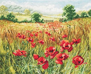 Изображение Маковое поле (Cornfield Poppies)