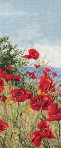 Изображение Поле маков (Clifftop Poppies View)