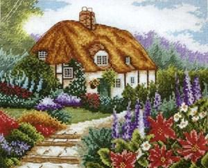 Изображение Сад в цвету (Cottage Garden In Bloom)