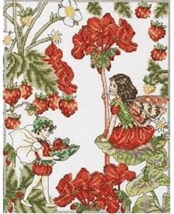 Изображение Феи герани и клубники (The Geranium and Strawberry Fairies)