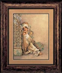 Изображение Арабская девушка (Arabian woman)