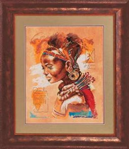 Изображение Африканка (African woman)