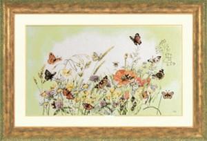 Изображение Цветы и бабочки (Flowers Butterfly)