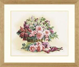 Изображение Букет лилий и пионов (Bouquet of Lilacs and Peonies)