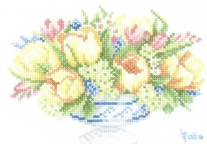 Изображение Весенняя цветочная фантазия