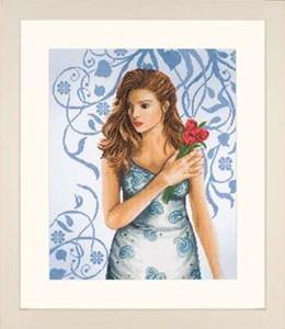 Изображение Девушка в голубом (Lady in Blue)