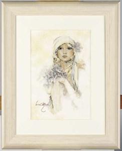 Изображение Девушка с сиренью (Lady With Lilac Flowers)