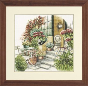 Изображение Осенняя терраса в цвету (Terrace in Autumn Bloom)