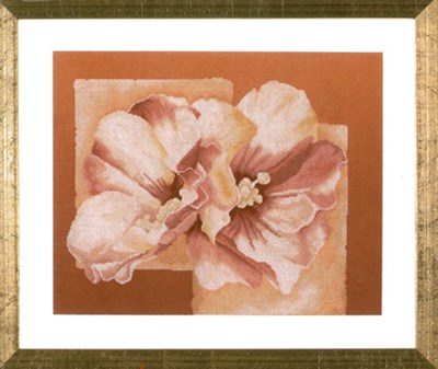 Изображение Абстракция с розовой китайской розой (Abstract with Pink Chinese Rose)