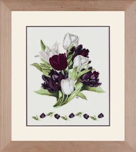 Изображение Черные тюльпаны (Black tulips)