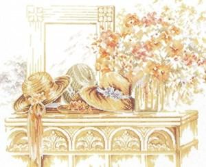 Изображение Шляпы и цветы (Hats with flowers)