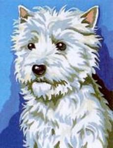 Изображение Белый пес