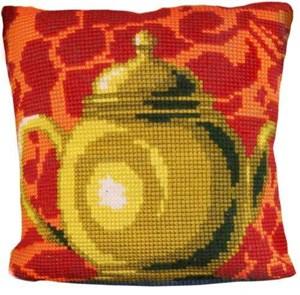 Изображение Бронзовый чайник (Pot a The bronze) (подушка)