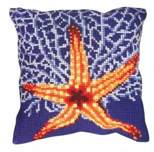 Изображение Коралловая звезда (Etoile et Corail blanc) (подушка)