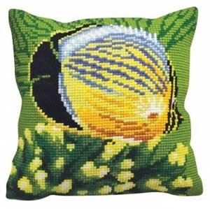 Изображение Экзотические рыбы (Poisson exotique gauche) (подушка)