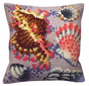 Изображение Морские ракушки (Fossile pastel gauche) (подушка)